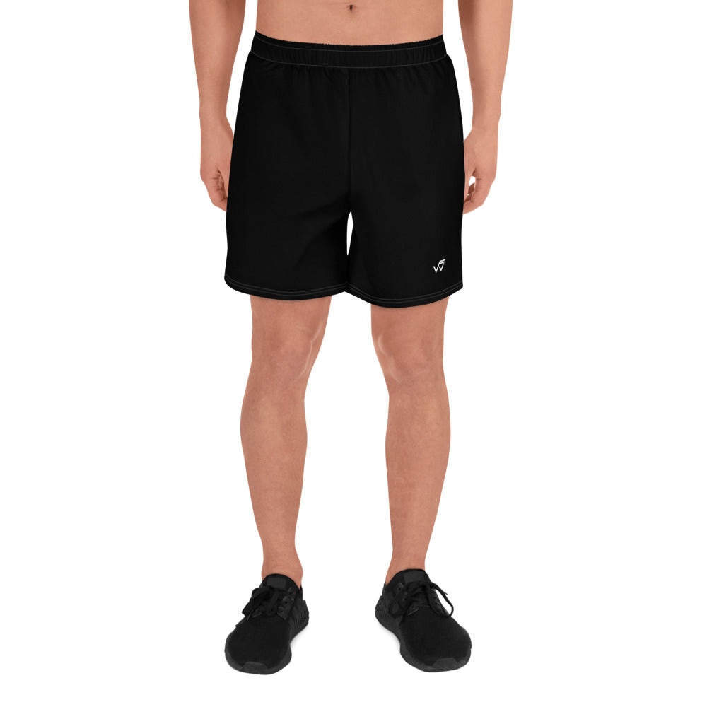 Men's Athletic Gym Shorts - Black