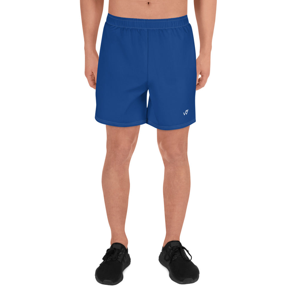 Men's Athletic Gym Shorts - Blue