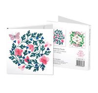 Floral Square Notecard Wallets