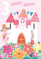 GREETING CARD HOOPLA AGE 3 GIRL