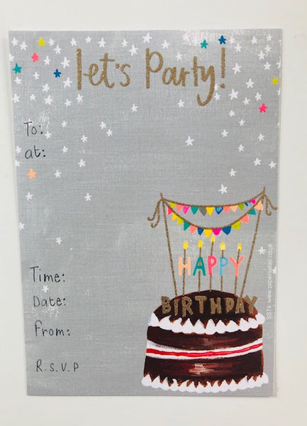 Party Invitation Packs