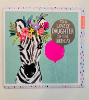 GREETING CARD BIRTHDAY DAUGHTER