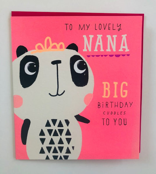 GREETING CARD BIRTHDAY NANA