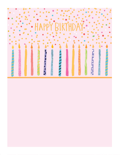 GREETING CARD JAMBOREE BIRTHDAY