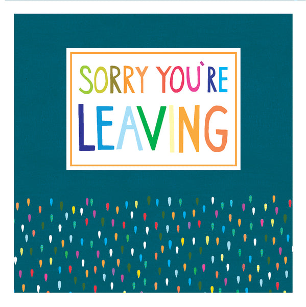 GREETING CARD LEAVING
