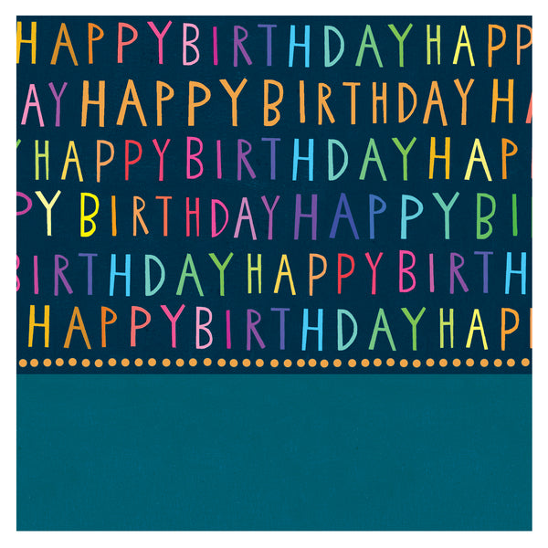 GREETING CARD JUMBO JAMBOREE BIRTHDAY