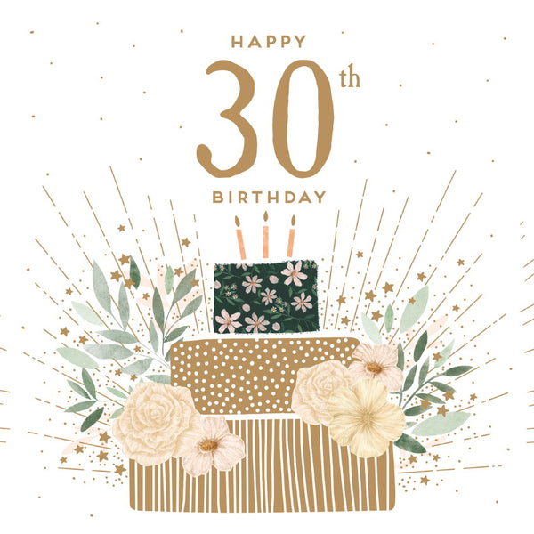 GREETING CARD BIRTHDAY AGE 30