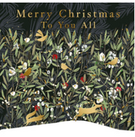 Merry Christmas To You All Greeting Card