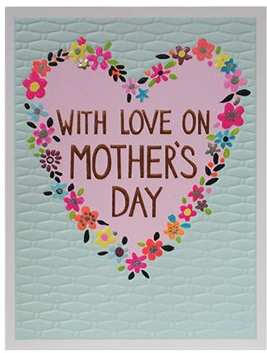 GREETING CARD MOTHERS DAY