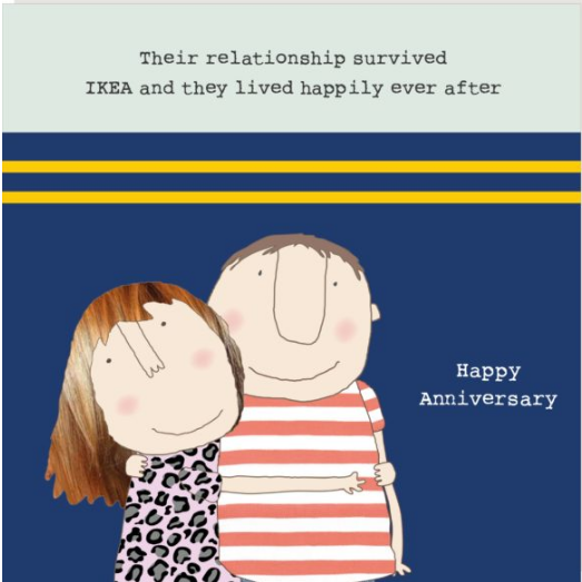 GREETING CARD ANNIVERSARY HUMOUR