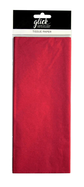 TISSUE PLAIN RED