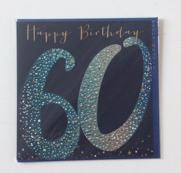 GREETING CARD BIRTHDAY AGE 60