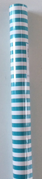 ROLL WRAP 3M AQUA STRIPE
