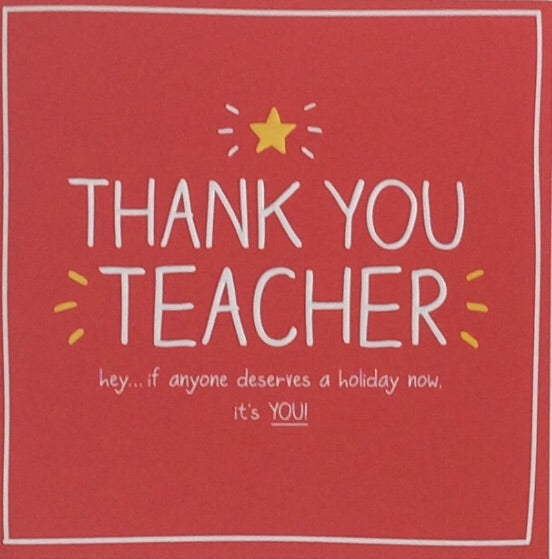 Greeting Card Teacher