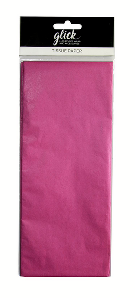 TISSUE PLAIN HOT PINK
