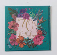 GREETING CARD AGE 70