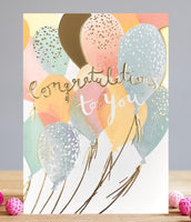 GREETING CARD CONGRATULATIONS