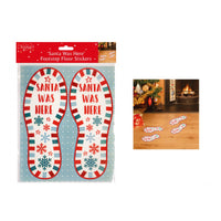 XMAS Santa Floor Stickers