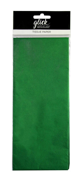 TISSUE PLAIN BOTTLE GREEN