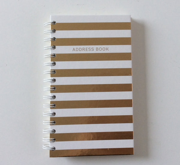 STATIONERY ADDRESS BOOK