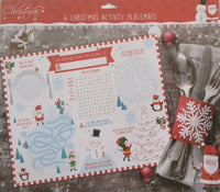 XMAS Activity Placemats