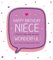 GREETING CARD BIRTHDAY NIECE