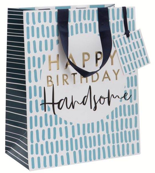 GIFT BAG LARGE BIRTHDAY HANDSOME