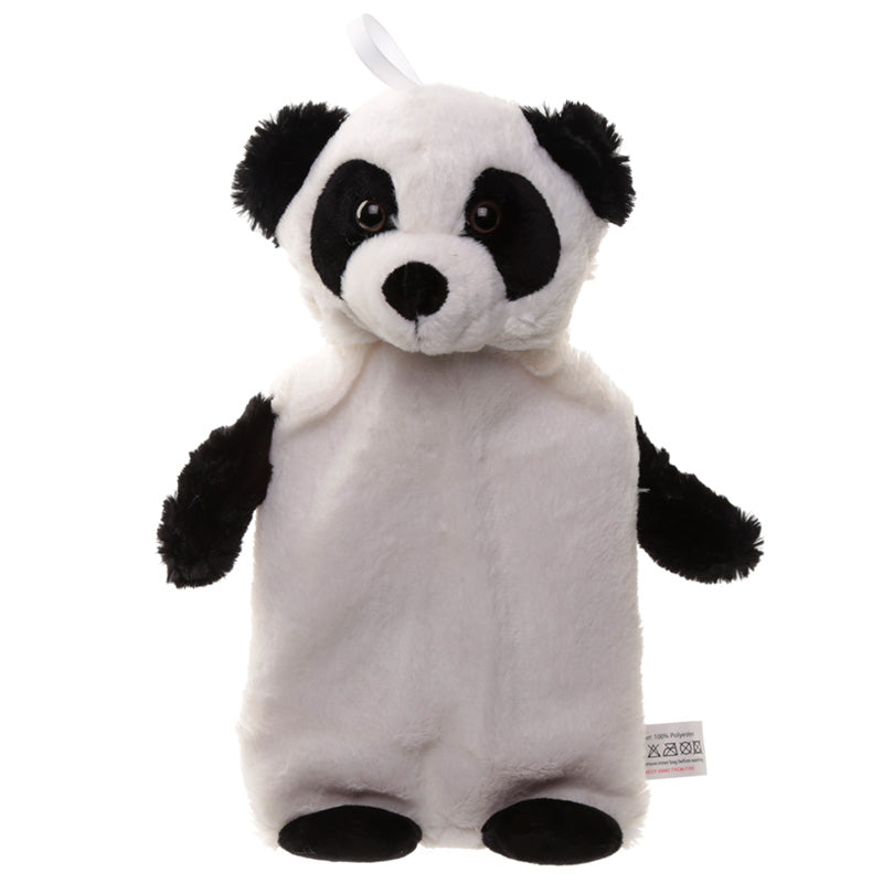 Plush Panda Hot Water Bottle and Cover - Puckator at Destination Fashion