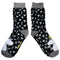 Moomin Black Printed Socks - House of Disaster at Destination Fashion