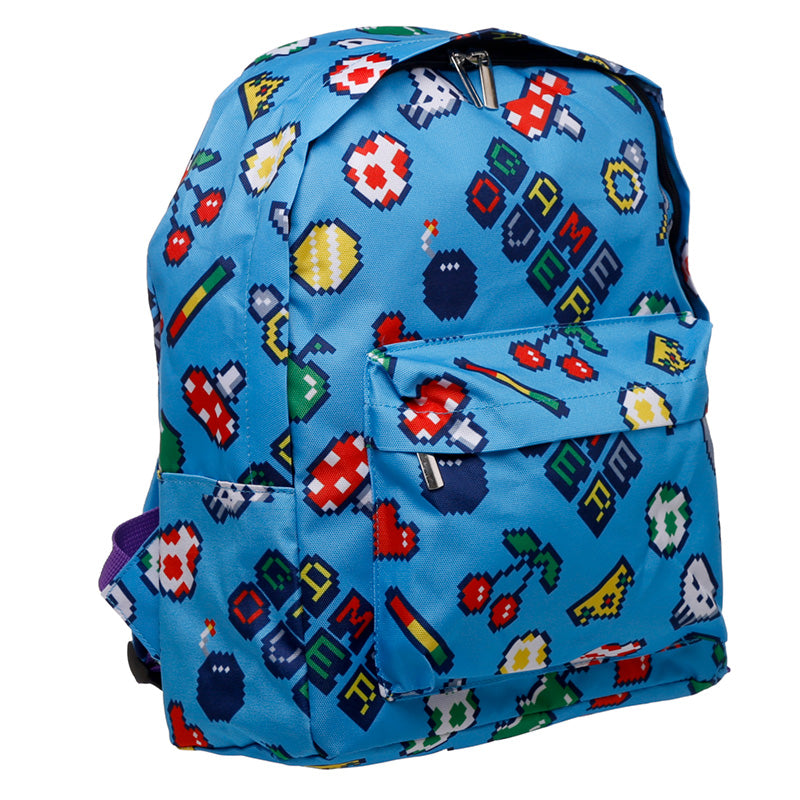 Retro Gaming Design School & Everyday Rucksack - Puckator at Destination Fashion