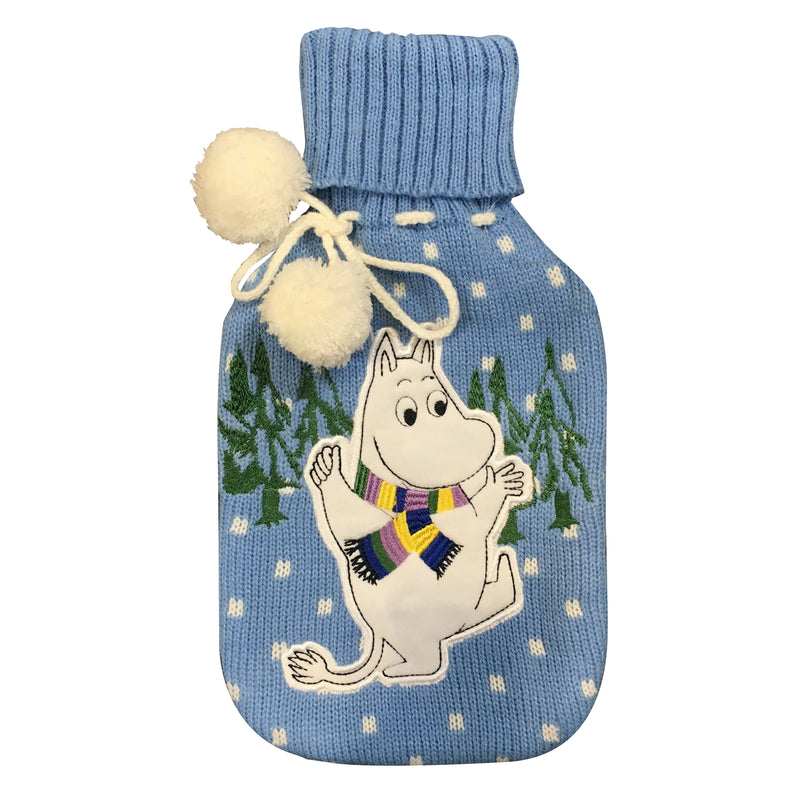 Moomin Winter Hot Water Bottle - House of Disaster at Destination Fashion