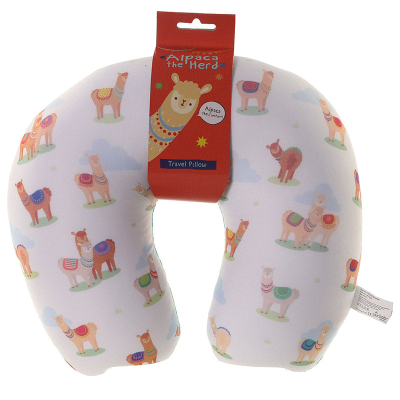 Alpaca Design Travel Pillow - Puckator at Destination Fashion