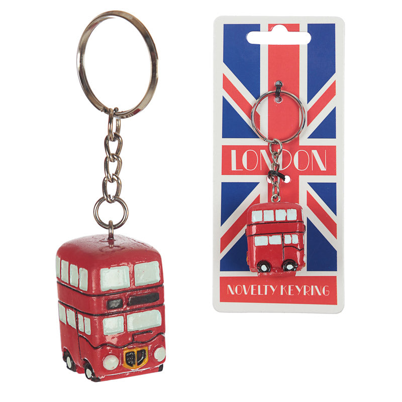 London Routemaster Bus Keyring - Puckator at Destination Fashion