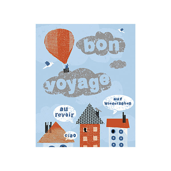 House Design Bon Voyage Greeting Card - Soul UK at Destination Fashion