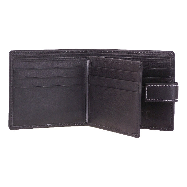 Leather Eden Mens Tab Wallet - Mala Leather at Destination Fashion