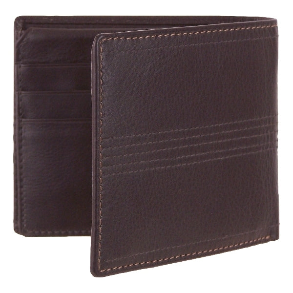 Leather Eden Mens Wallet with Coin and Extra Card - Mala Leather at Destination Fashion