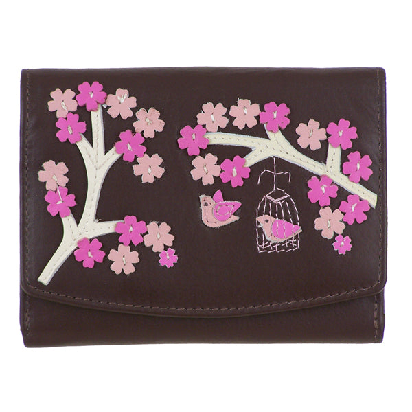 Leather Saki Tab Purse - Mala Leather at Destination Fashion
