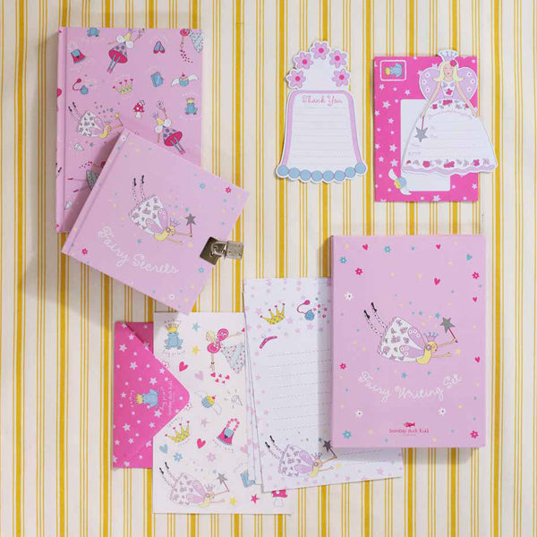 Pink Flying Fairy Notebook - Bombay Duck at Destination Fashion