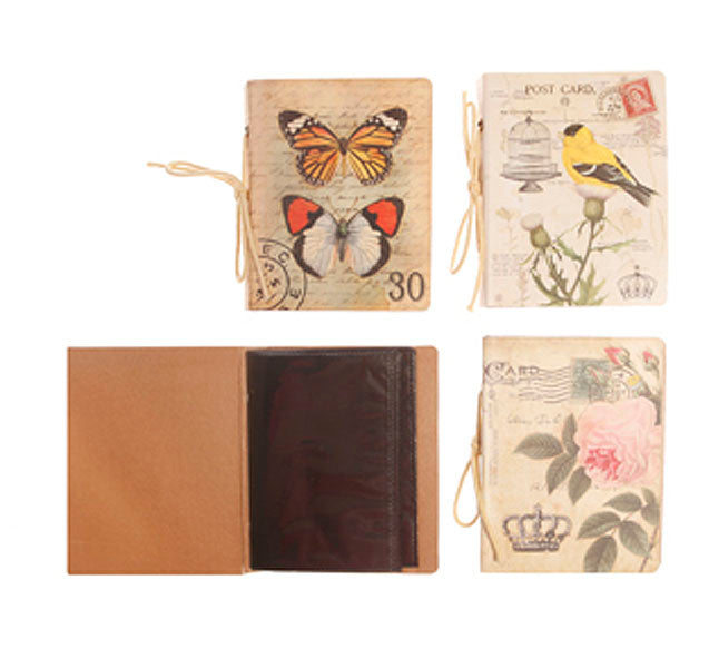 Vintage Bird & Pink Flower Design Photo Album - Sass and Belle at Destination Fashion