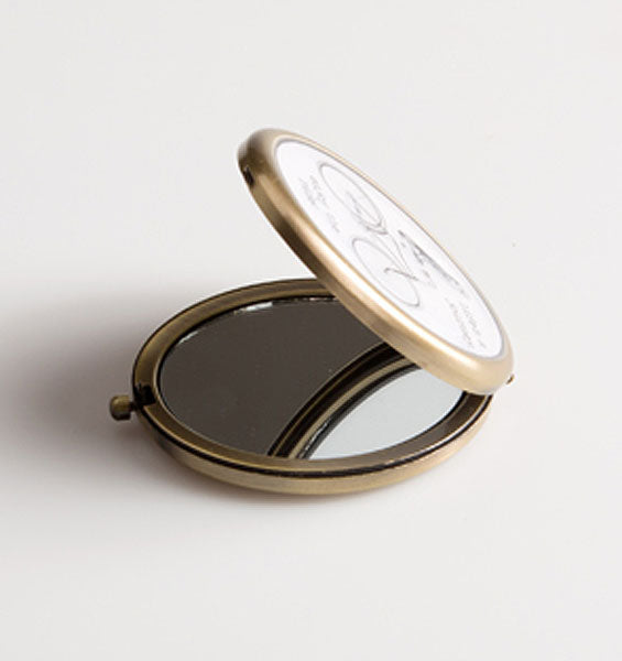 Life Is a Journey Owl Compact Mirror - Sass and Belle at Destination Fashion