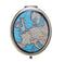 Vintage Map Compact Mirror - Sass and Belle at Destination Fashion