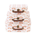 Set of 3 Fox Suitcase - Sass and Belle at Destination Fashion