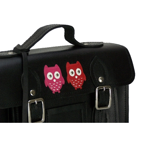 Leather Kyoto Owl Satchel Bag - Mala Leather at Destination Fashion