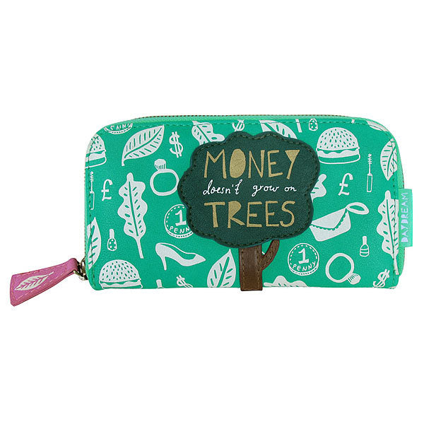 Daydream Money Doesn't Grow on Trees Wallet - House of Disaster at Destination Fashion