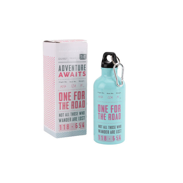 400ml Water Bottle - Adventure Awaits at Destination Fashion