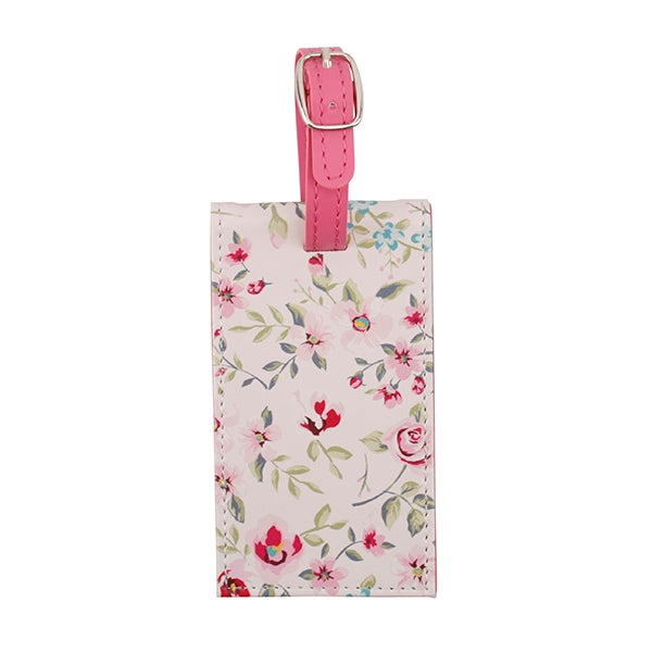 Wild & Free Pink Luggage Tag - Destination Fashion at Destination Fashion