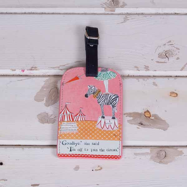 Curly Girl Luggage Tag - Soul UK at Destination Fashion