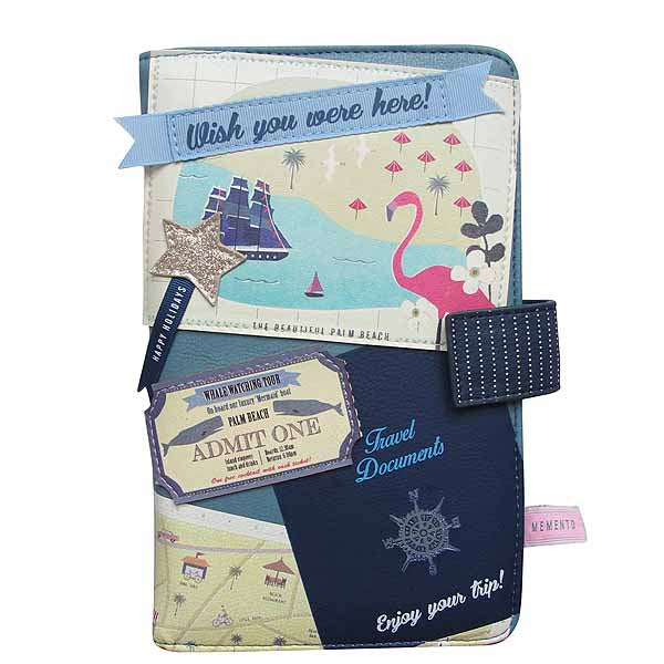 Memento Beach Travel Wallet - House of Disaster at Destination Fashion