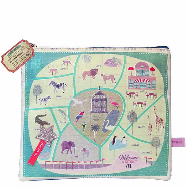 Memento Zoo Pouch - House of Disaster at Destination Fashion