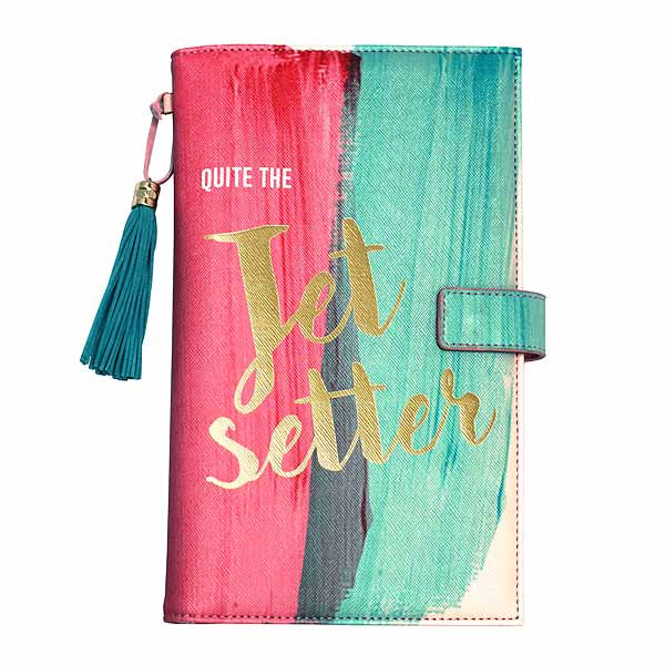 Taa Daa 'Jet Setter' Travel Wallet - House of Disaster at Destination Fashion